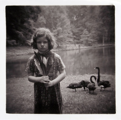 Beth with Black Swans
