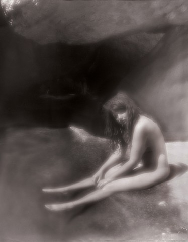 "Beth 5, Mimbres Hot Springs, New Mexico 1996 zone plate photograph archival pigment print 13""x20"""