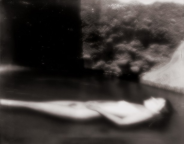 """Beth 3, Mimbres Hot Springs, New Mexico 1996 zone plate photograph archival pigment print 13""""x20"""""""