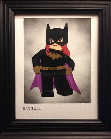 Art work for LEGO BATMAN Director.