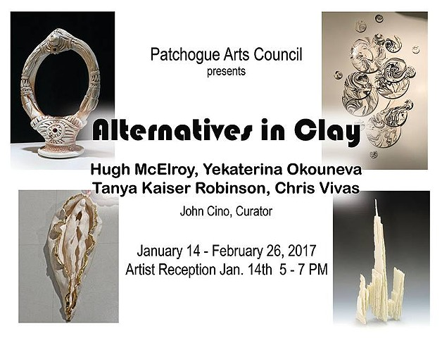 Curation: Alternatives in Clay (2017)