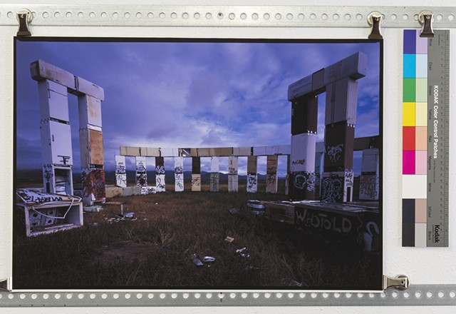 """Fridgehenge II"""