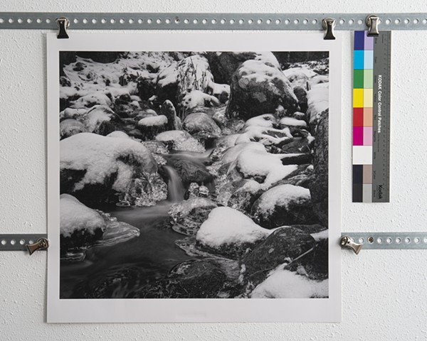 """Ice on Nambe Creek"" ed. of 8"