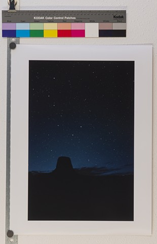 """Night Over Devil's Tower"""