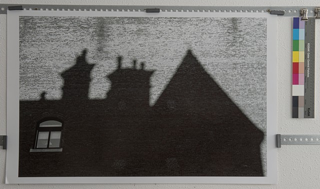 """Shadow of a House, Boston"""