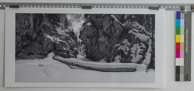 """East Fork of the Jemez River, Swimming Hole by way of Snowshoes, New Mexico"" ed. of 3"