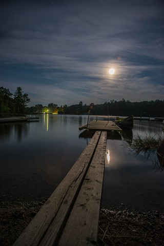 """Full Moon at Grand Lake Lodge"""