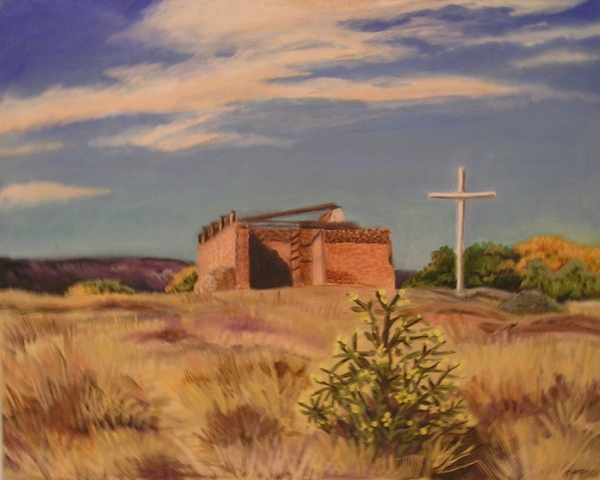 Derelict Church near Abiquiu