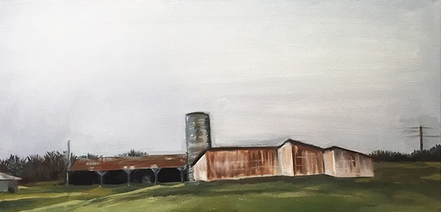 Ohio barns in December