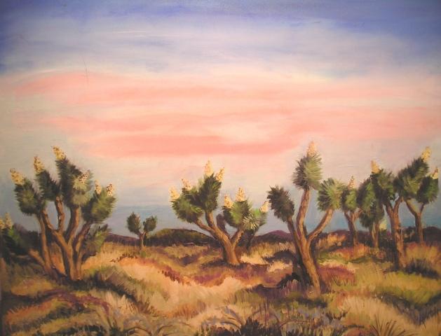 Mojave Desert in Spring
