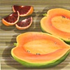 Papaya and Blood Oranges