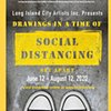 Social Distancing - Long Island City Artists Drawing show