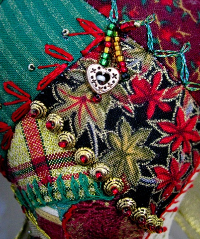 Angel  Tribute: Christmas Stitch Detail