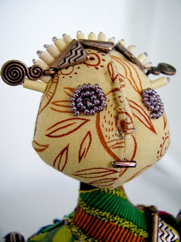 Tribute: African Head Detail