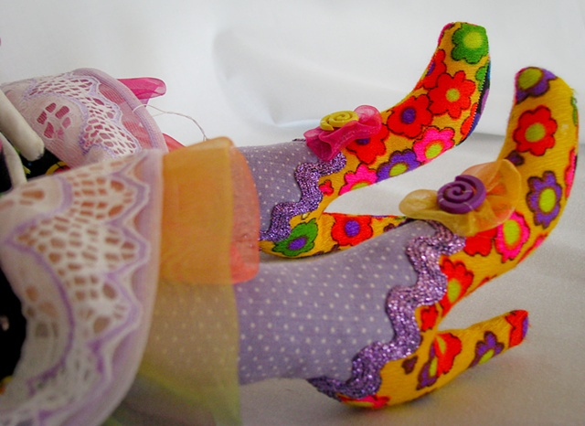 Daisy Shoe Detail