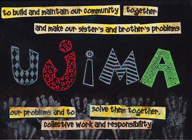 Ujima - Collective Work and Responsibility