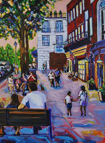 Truly yogurt ice cream summer wellesley painting color art chelsea sebastian