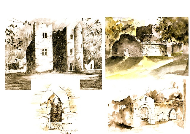 Drawings at Carey's Castle