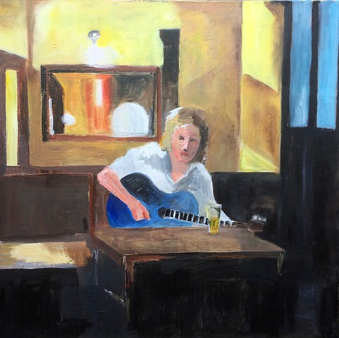 Girl with a Blue Guitar