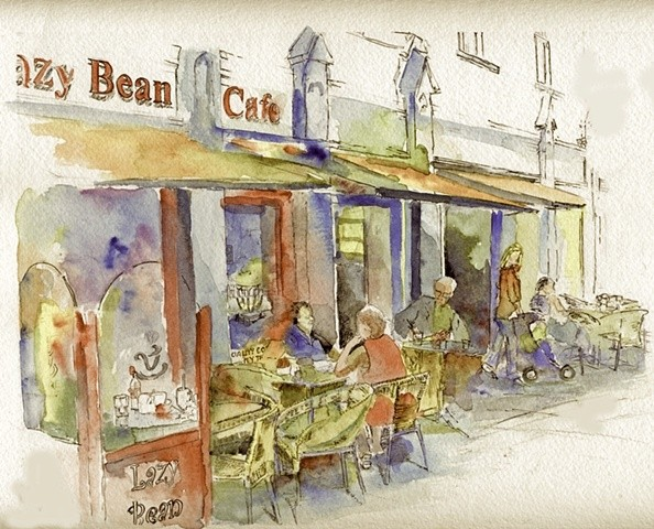 Coffee at the Lazy Bean Cafe Cahir