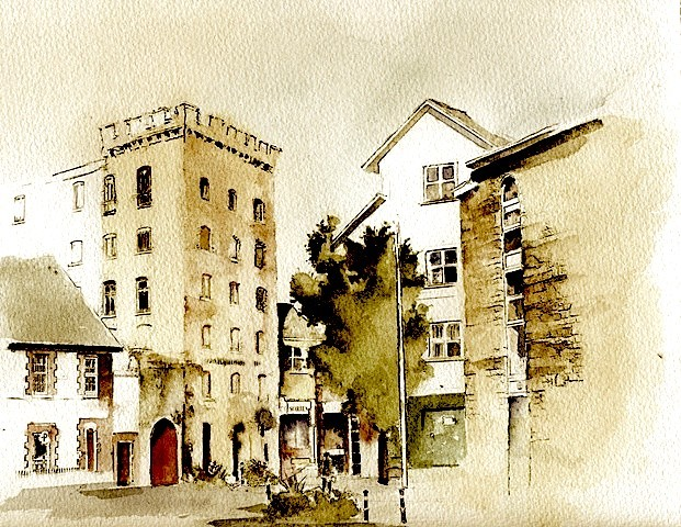 Richmond Mill, Clonmel, Tipperary, street scene,ireland