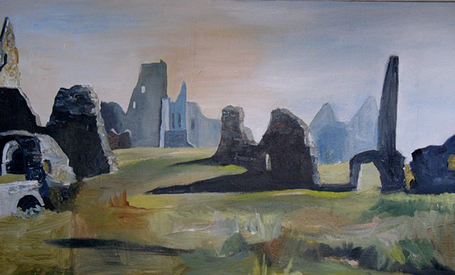 Athassel Abbey  County Tipperary (Early Morning)