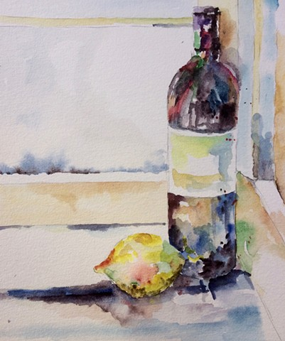 Still Life with wine 2