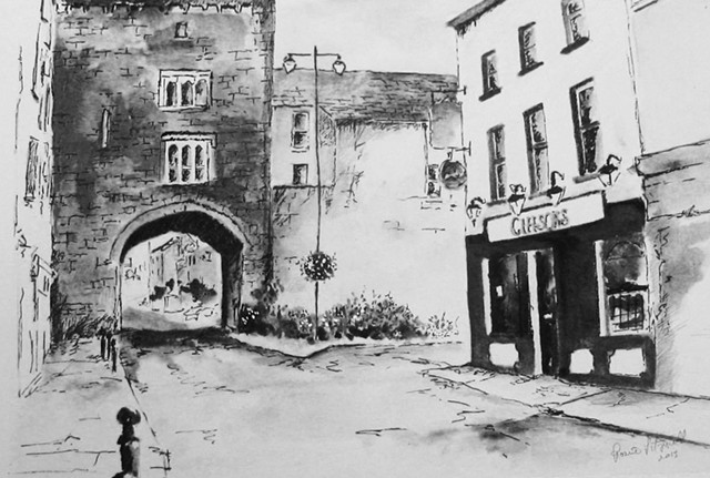 West Gate With Gleeson's Bar