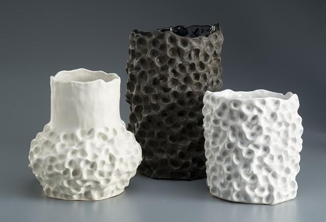 Pinch Pot Ceramic Vases