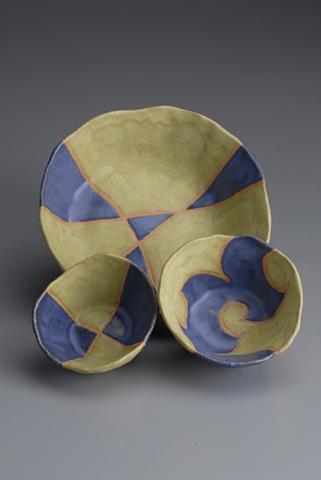 pinch pot bowls ceramics