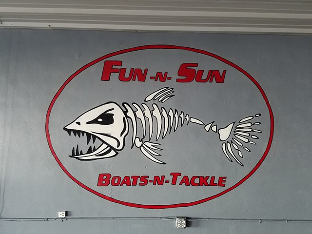 Fun and Sun Boats and Tackle Logo Work