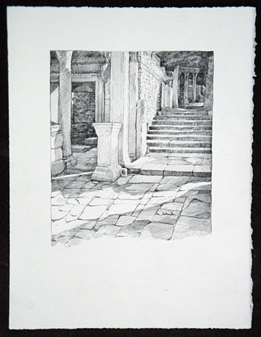 Travel Drawing: Ephesus, Turkey