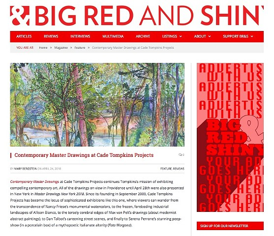 Big Red & Shiny: Contemporary Drawings