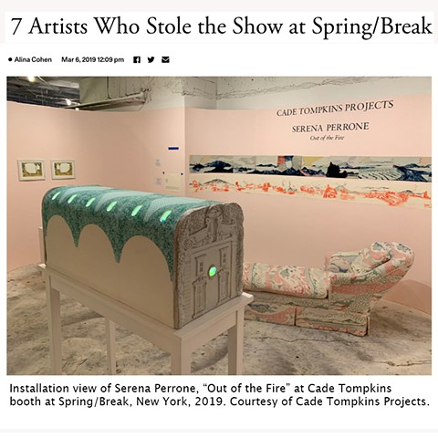 7 Artists Who Stole the Show at Spring/Break - Alina Cohen for Artsy