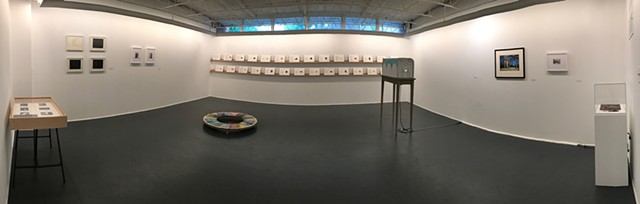 Fata Morgana Solo Show at the Print Center, Installation View
