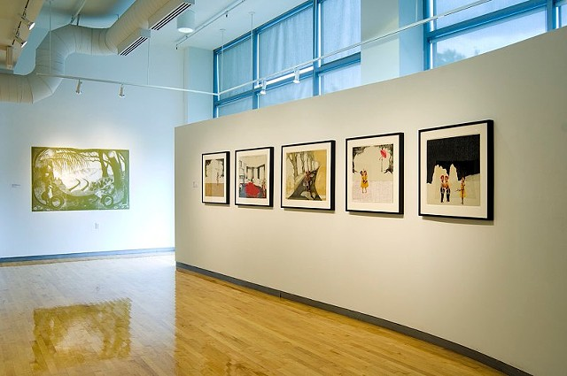 Voyage Series (installation view)