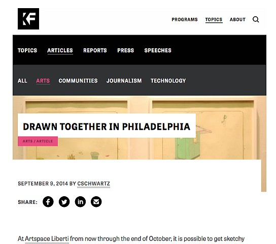 Knight Foundation - Drawing Now