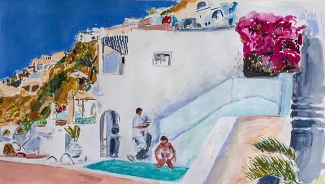 Santarini Poolside2