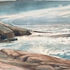 Sea at Peggys Cove, Nova Scotia