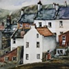 Cottages by Staithes Beck, North Yorkshire. No. 2 - 2012