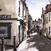 Street scene, Whitby, North Yorkshire.