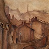 Quebec Street, Keighley. Watercolour