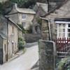 West Burton, North Yorkshire. Watercolour.