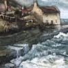 Cottage, sea...
