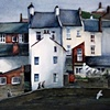 Cottages by Staithes Beck