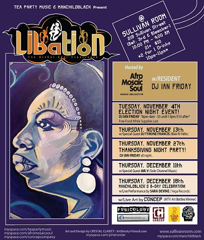 Libation Flyer #2