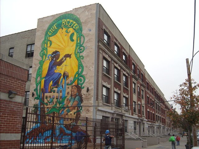 A Groundswell Mural project with Majora Carter Group