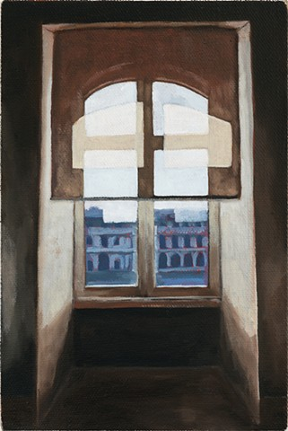 Louvre window