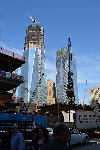 Rebuilding the Twin Towers