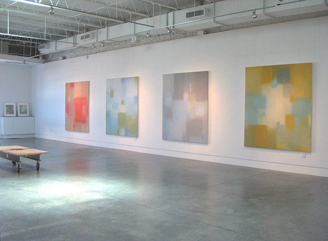 Installation view of exhibition  Julian Jackson, Aura  at Page Bond Gallery, Richmond VA Oct-Nov 2011